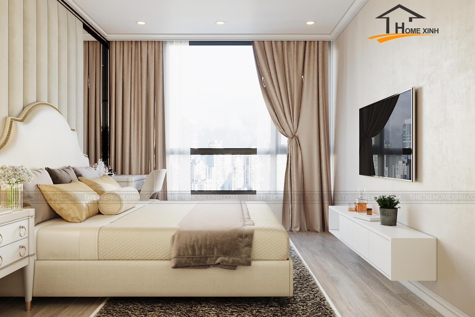 Các loại rèm cửa sổ phòng ngủ được ưa chuộng nhất