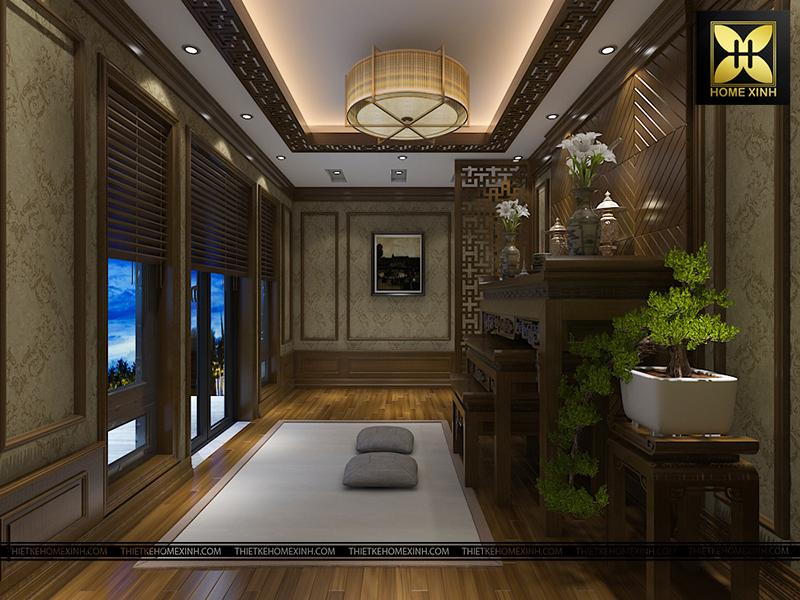 Phong cách Á Đông trong Thiết kế nội thất phòng khách