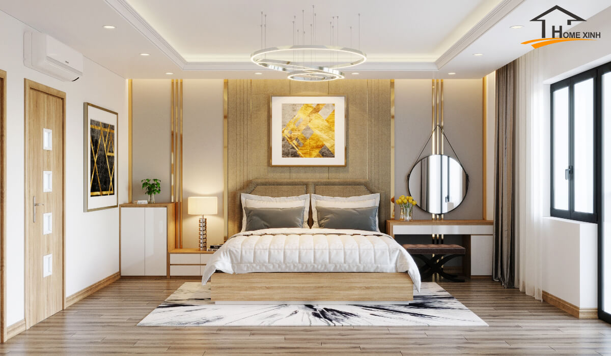Xu hướng thiết kế nội thất phòng ngủ đẹp hiện đại năm 2020