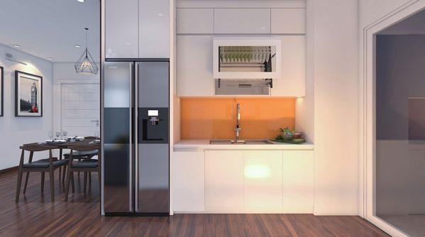 Thiết kế phòng bếp tách biệt và những điều cần phải nhớ