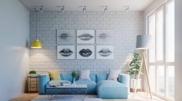 Thiết kế nội thất chung cư tone xanh – xua tan cái nắng ngày hè