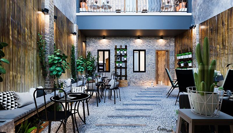 Phong cách thiết kế quán café hot nhất 2020
