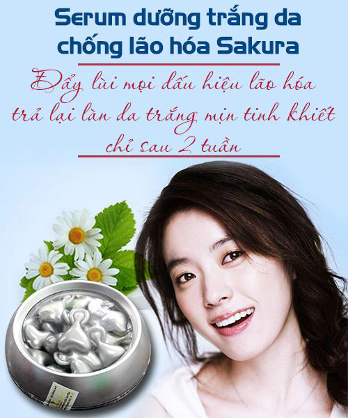 Mỹ phẩm Sakura – món quà kỳ diệu cho làn da phụ nữ Việt