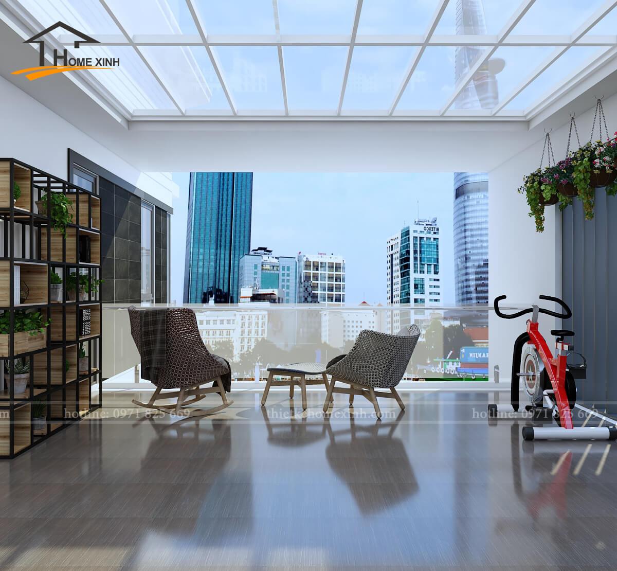 Phí thiết kế nội thất biệt thự tại HomeXinh