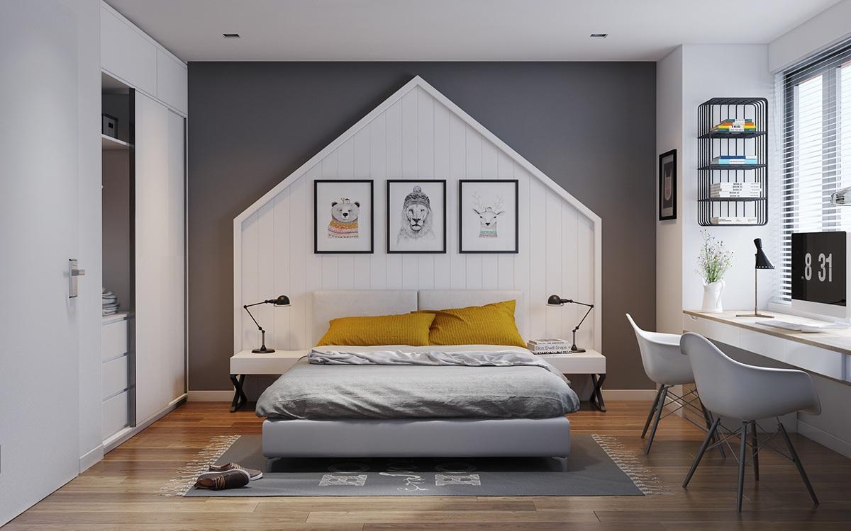 Gợi ý thi công thiết kế căn hộ nhỏ 40m2
