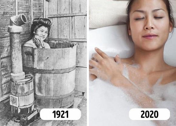 Tại sao hầu hết người Nhật tắm vào buổi tối?