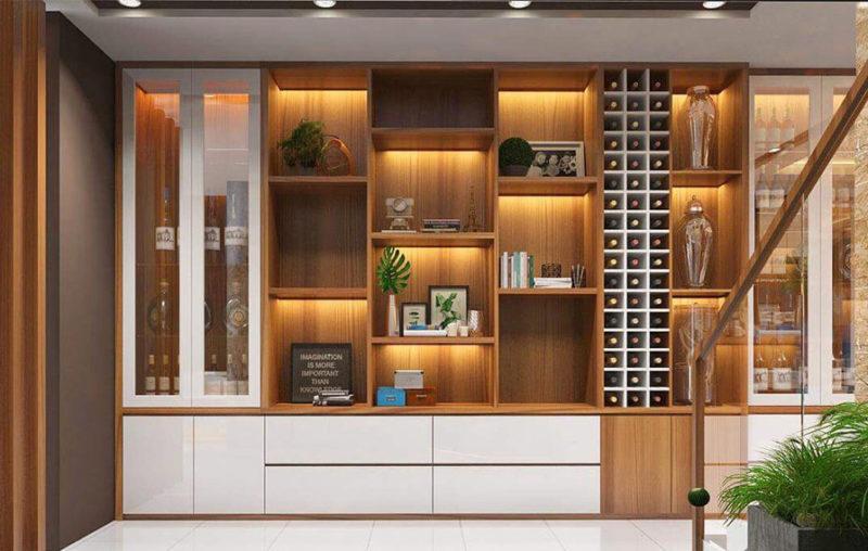 Cách lựa chọn và sắp xếp tủ rượu hợp phong thủy