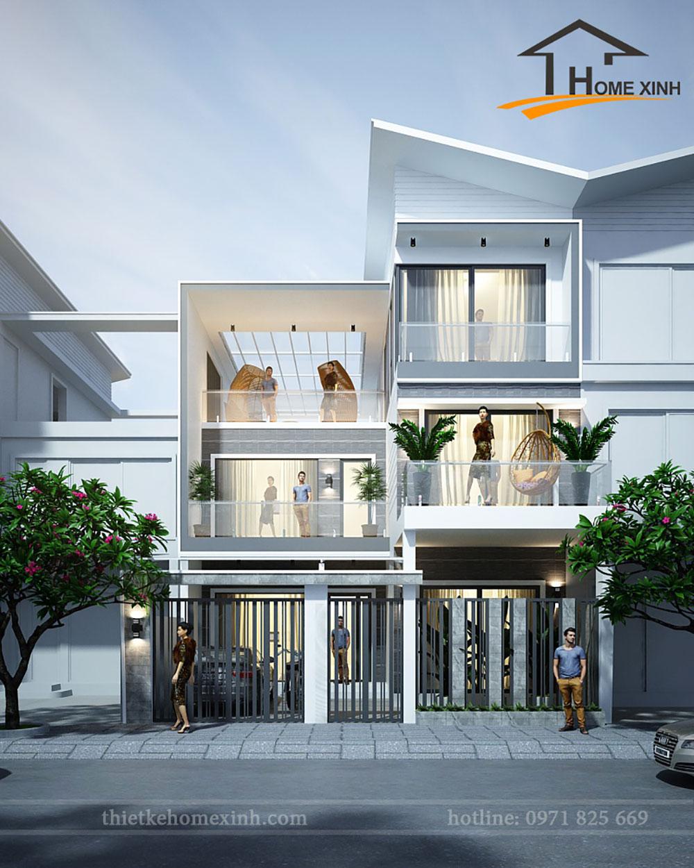10 mẫu thiết kế kiến trúc biệt thự đẹp năm 2020
