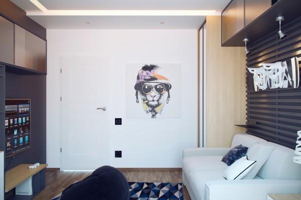 Nội thất căn hộ nhỏ xinh xắn mà bất kỳ bạn trẻ nào nhìn thấy cũng yêu