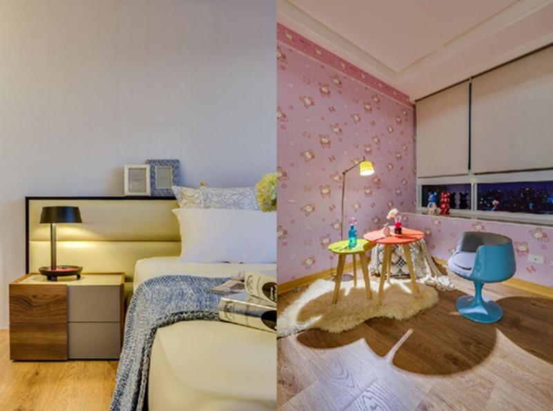 Thiết kế nội thất chung cư lưu trữ thông minh cho căn hộ 60m2 gia đình 3 người