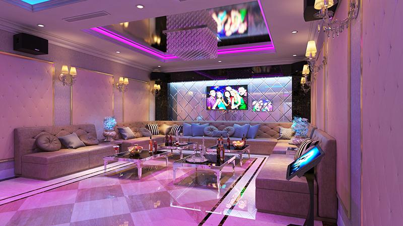 Thiết kế nội thất quán Karaoke Phú Thọ
