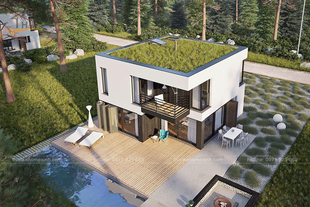 Chiêm ngưỡng 5 mẫu thiết kế nhà vườn đẹp, thoáng mát
