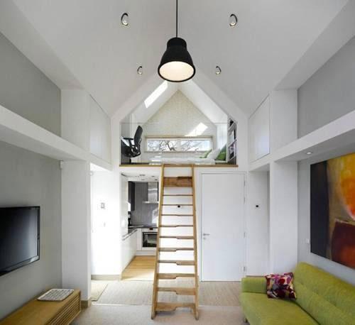 9 Mẫu thiết kế nội thất nhà cấp 4 có gác lửng đẹp hút mắt