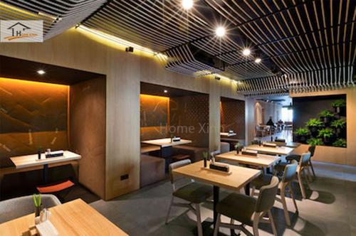 Tổng hợp những mẫu thiết kế nhà hàng đẹp sang trọng