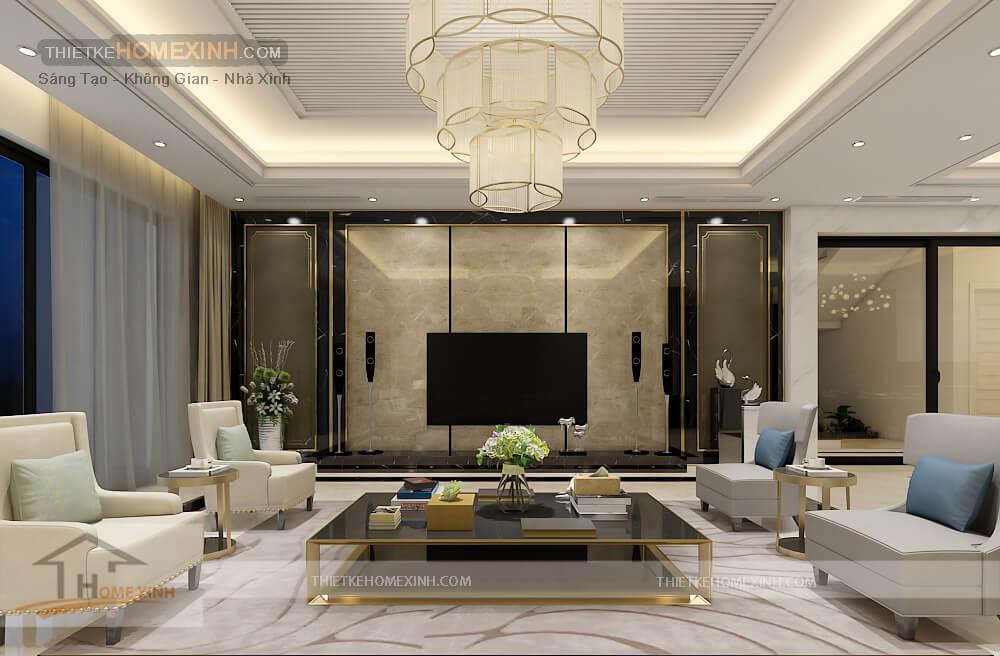 Cách chọn đèn trang trí cho không gian nội thất biệt thự