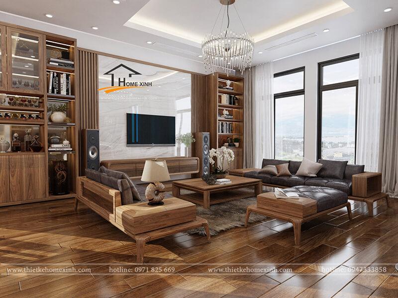 10 mẫu thiết kế nội thất biệt thự sang trọng nhất hiện nay