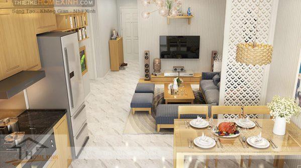 Tại sao cần phải trả chi phí thiết kế nội thất chung cư?