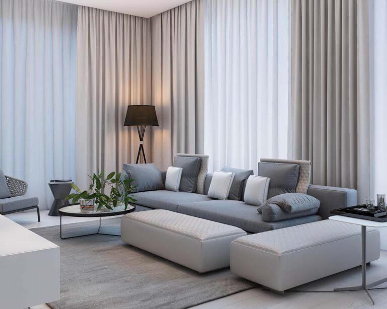 Tư Vấn: Công ty thiết kế phòng khách sang trọng, ấn tượng – HomeXinh