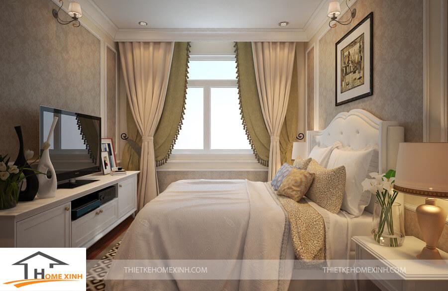Thiết kế nội thất chung cư tân cổ điển say lòng người