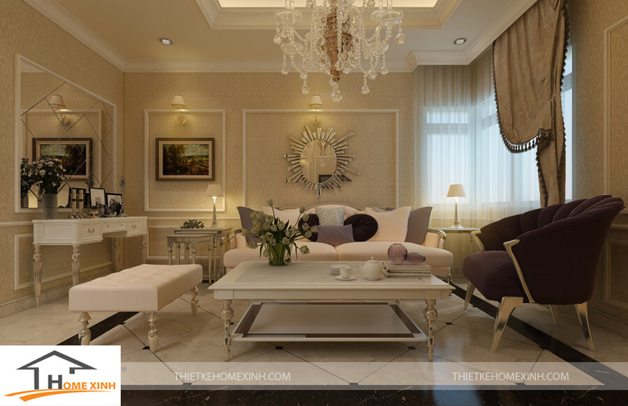 Những điều cần tránh khi thiết kế nội thất chung cư phong cách tân cổ điển