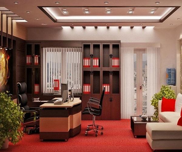 Thiết kế nội thất nhà ống 3 tầng kết hợp văn phòng kinh doanh