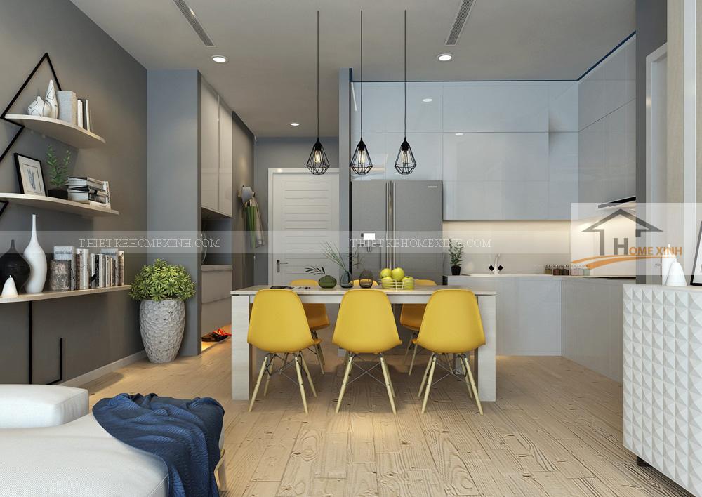 TIPS chọn đèn thả bàn ăn phù hợp với không gian phòng bếp