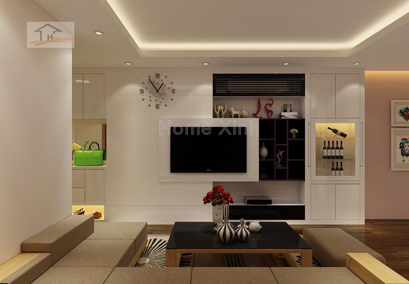 Tổng hợp những mẫu thiết kế nội thất phòng khách tại Hà Nội