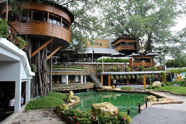 Bí quyết thiết kế nội thất quán cafe sân vườn khiến vạn người mê