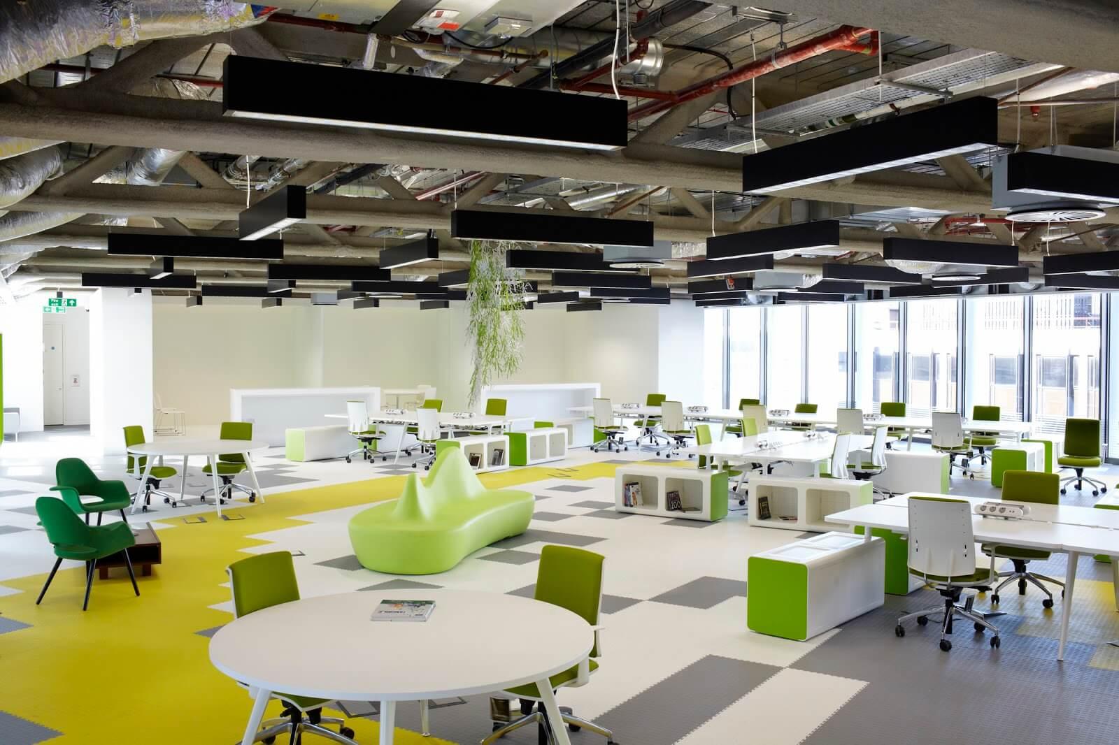 Giải pháp thiết kế nội thất văn phòng hiện đại giá rẻ đẹp cho công ty