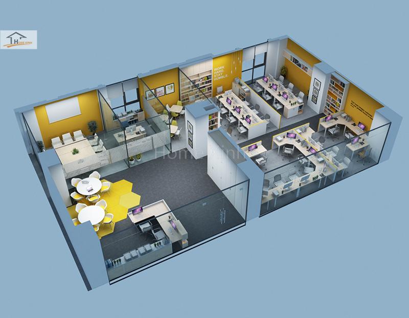 TƯ VẤN: Các bước lên kế hoạch thiết kế nội thất văn phòng làm việc