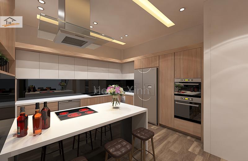 Nên đặt bếp theo tuổi chồng hay vợ? Mẫu thiết kế phòng bếp đẹp