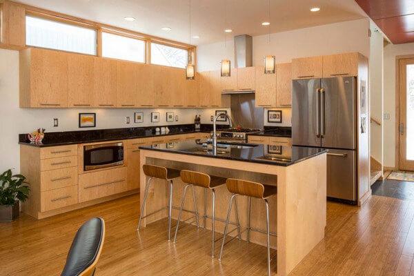 Giải pháp thiết kế nội thất bếp chung cư nhỏ