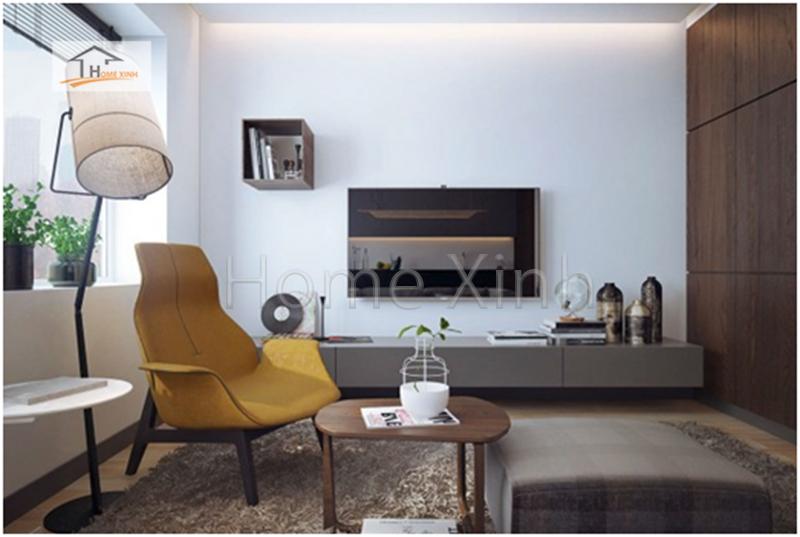 Thiết kế phòng khách cao cấp phong cách hiện đại