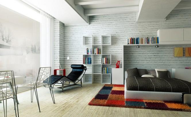 Những phong cách nội thất phòng ngủ hiện đại, đầy màu sắc