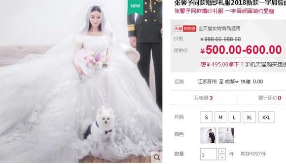Phạm Băng Băng dính scandal, 'tình địch' tranh thủ khoe gia tài mỹ phẩm đắt tiền cùng váy cưới lộng lẫy