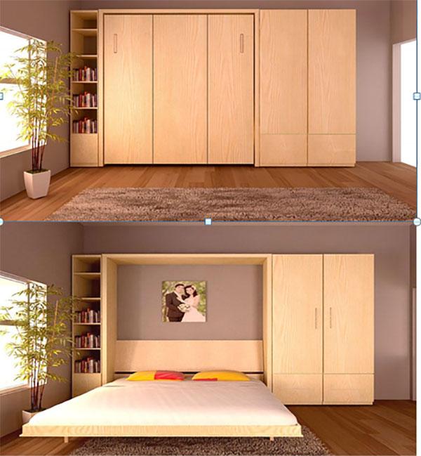 Mãn nhãn với 8 món nội thất thông minh cho nhà nhỏ