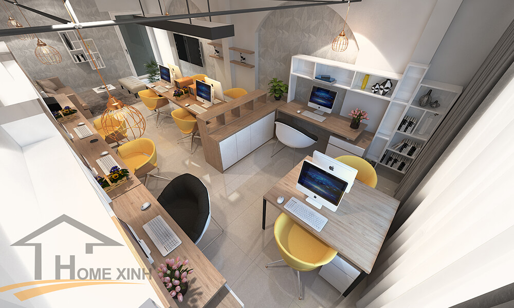 Gợi ý các xu hướng thiết kế nội thất văn phòng năm 2020