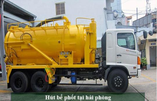 Top dịch vụ hút hầm cầu nhanh, gọn và hiện đại tại Hải Phòng