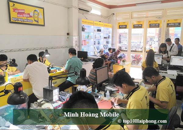 Top 10 cửa hàng sửa chữa điện thoại uy tín và chính hãng tại Hải Phòng