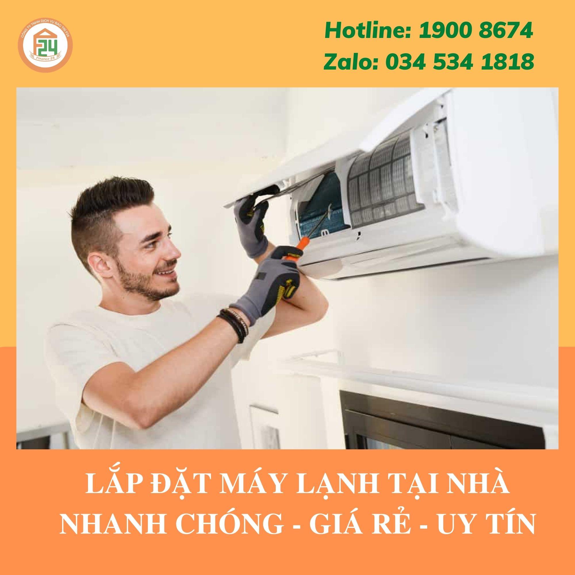 Lắp Đặt Máy Lạnh Giá Rẻ Tại Nhà | Công Ty Bảo Trì & Sửa Chữa Máy Lạnh