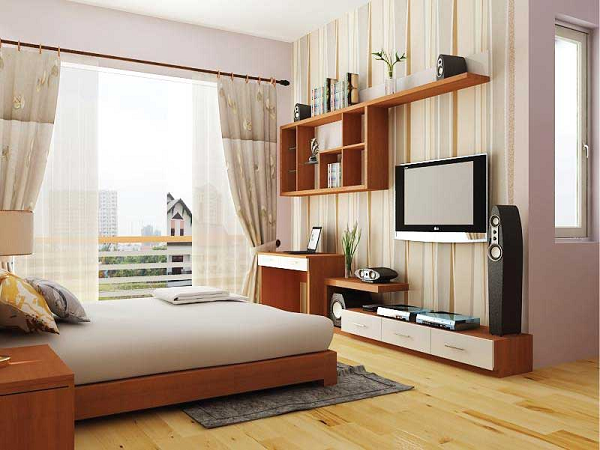 Đơn Vị Thi Công Nội Thất Phòng Ngủ Chung Cư | Uy Tín Chất Lượng